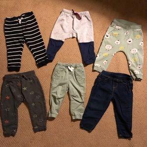 Bundle of 12-18months boys pants